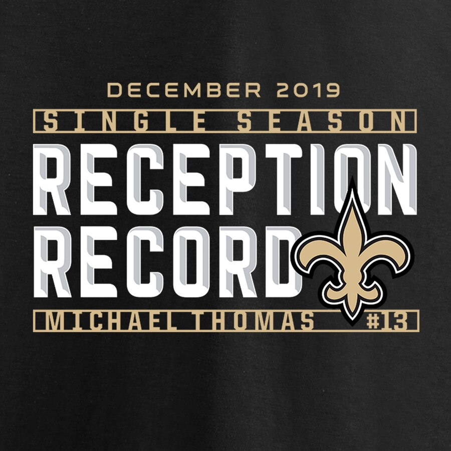 Michael Thomas Single Season Reception Record