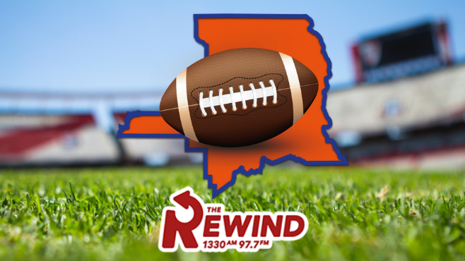 The Rewind 97.7 FM and 1330 will serve as the home station for the St. Landry Parish Game of the Week this fall. Each of the parish's nine football programs will be featured throughout the upcoming season. -- Photo illustration by Clint Domingue